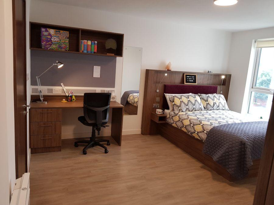 Premier wet room bedroom